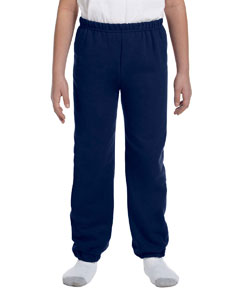 Navy Heavy Blend™ Youth 8 oz., 50/50 Sweatpants