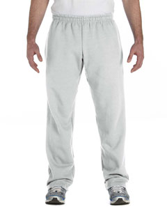 Ash Heavy Blend™ 8 oz., 50/50 Open-Bottom Sweatpants