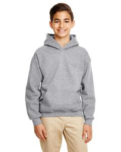 Graphite Heather Heavy Blend™ Youth 8 oz., 50/50 Hood