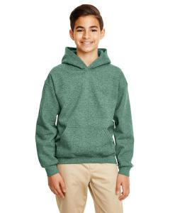 Hth Sp Drk Green Heavy Blend™ Youth 8 oz., 50/50 Hood