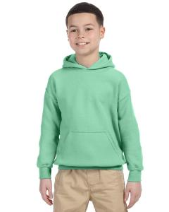 Mint Green Heavy Blend™ Youth 8 oz., 50/50 Hood