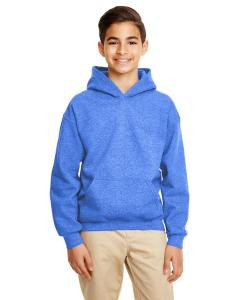 Hthr Sport Royal Heavy Blend™ Youth 8 oz., 50/50 Hood