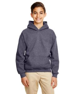 Ht Sprt Drk Navy Heavy Blend™ Youth 8 oz., 50/50 Hood