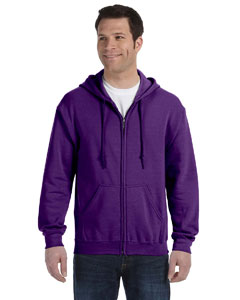 Purple Heavy Blend™ 8 oz., 50/50 Full-Zip Hood