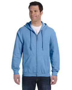 Carolina Blue Heavy Blend™ 8 oz., 50/50 Full-Zip Hood