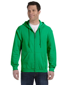 Irish Green Heavy Blend™ 8 oz., 50/50 Full-Zip Hood
