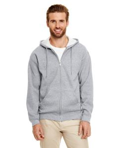 Graphite Heather Heavy Blend™ 8 oz., 50/50 Full-Zip Hood