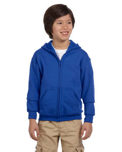 Royal Youth Heavy Blend™ 8 oz. 50/50 Full-Zip Hood