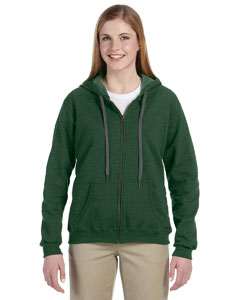 Meadow 8 oz. Heavy Blend™ Vintage Missy Fit Full-Zip Hood