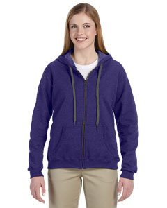 Lilac 8 oz. Heavy Blend™ Vintage Missy Fit Full-Zip Hood