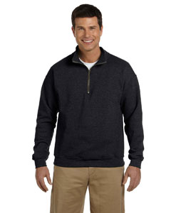 Black Heavy Blend™ 8 oz. Vintage Classic Quarter-Zip Cadet Collar Sweatshirt