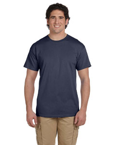 Heather Navy Ultra Cotton® 6 oz. T-Shirt