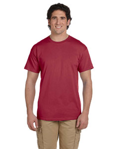 Heather Cardinal Ultra Cotton® 6 oz. T-Shirt