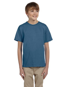 Indigo Blue Ultra Cotton® Youth 6 oz. T-Shirt
