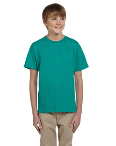 Jade Dome Ultra Cotton® Youth 6 oz. T-Shirt