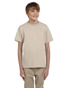 Sand Ultra Cotton® Youth 6 oz. T-Shirt