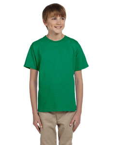Kelly Green Ultra Cotton® Youth 6 oz. T-Shirt