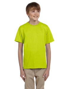 Safety Green Ultra Cotton® Youth 6 oz. T-Shirt