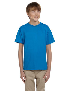 Sapphire Ultra Cotton® Youth 6 oz. T-Shirt