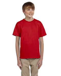 Red Ultra Cotton® Youth 6 oz. T-Shirt