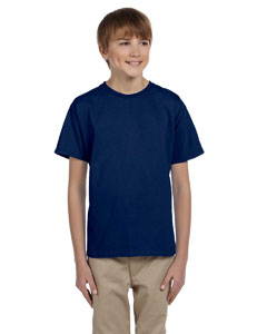 Navy Ultra Cotton® Youth 6 oz. T-Shirt