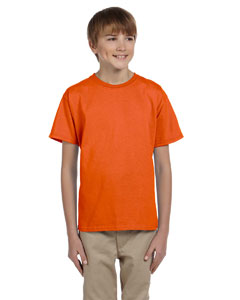 Orange Ultra Cotton® Youth 6 oz. T-Shirt