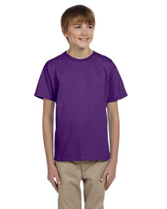 Purple Ultra Cotton® Youth 6 oz. T-Shirt