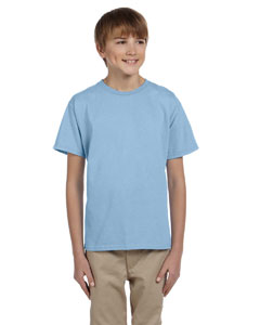 Light Blue Ultra Cotton® Youth 6 oz. T-Shirt