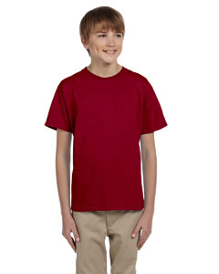 Cardinal Red Ultra Cotton® Youth 6 oz. T-Shirt