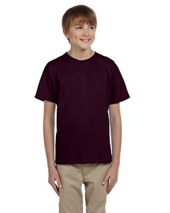 Dark Chocolate Ultra Cotton® Youth 6 oz. T-Shirt