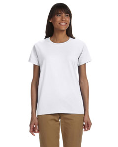 White Ladies' Ultra Cotton® 6 oz. T-Shirt