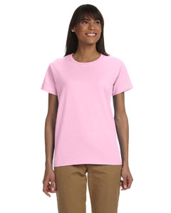 Light Pink Ladies' Ultra Cotton® 6 oz. T-Shirt
