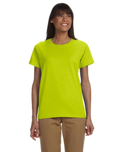 Safety Green Women's 6 oz. Ultra Cotton® T-Shirt