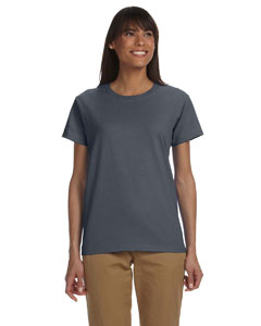 Charcoal Ladies' Ultra Cotton® 6 oz. T-Shirt