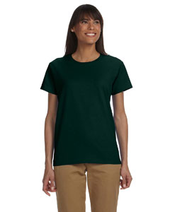 Forest Green Ladies' Ultra Cotton® 6 oz. T-Shirt