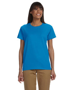 Sapphire Ladies' Ultra Cotton® 6 oz. T-Shirt