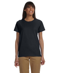 Black Ladies' Ultra Cotton® 6 oz. T-Shirt