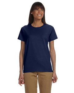 Navy Ladies' Ultra Cotton® 6 oz. T-Shirt