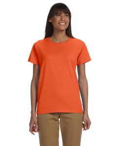 Orange Ladies' Ultra Cotton® 6 oz. T-Shirt