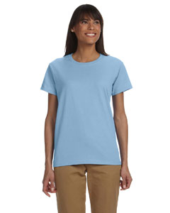 Light Blue Ladies' Ultra Cotton® 6 oz. T-Shirt