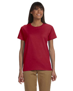 Cardinal Red Ladies' Ultra Cotton® 6 oz. T-Shirt