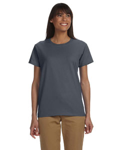 Dark Heather Ladies' Ultra Cotton® 6 oz. T-Shirt
