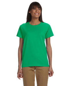 Irish Green Ladies' Ultra Cotton® 6 oz. T-Shirt