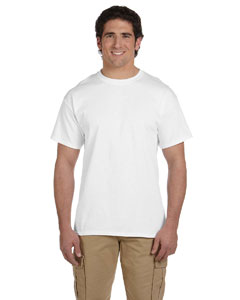 White Ultra Cotton® Tall 6 oz. Short-Sleeve T-Shirt