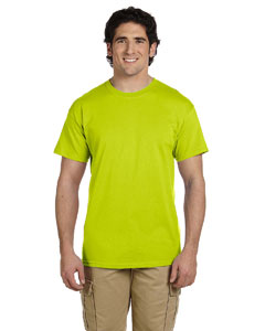 Safety Green Ultra Cotton® Tall 6 oz. Short-Sleeve T-Shirt