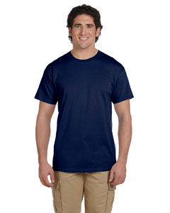 Navy Ultra Cotton® Tall 6 oz. Short-Sleeve T-Shirt