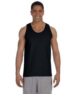 Black Ultra Cotton® 6 oz. Tank