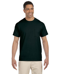 Forest Green Ultra Cotton® 6 oz. Pocket T-Shirt