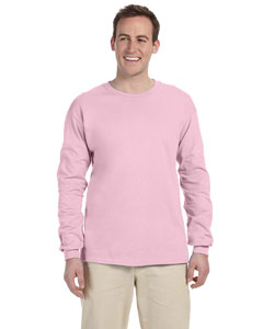 Light Pink Adult Ultra Cotton® 6 oz. Long-Sleeve T-Shirt