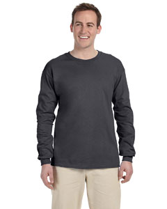Charcoal Ultra Cotton® 6 oz. Long-Sleeve T-Shirt